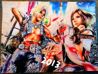 FINAL FANTASY XII W.I.P [ longtime ady LOL] by YukiFantasy