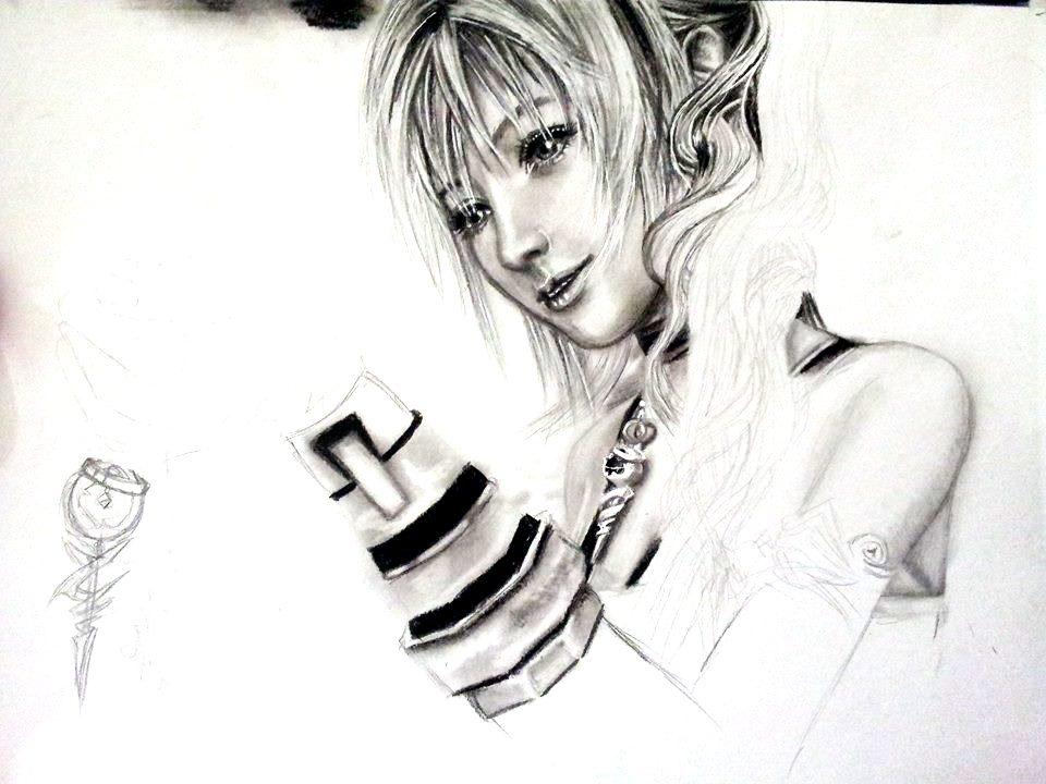 SERAH FARRON (W.I.P) by YukiFantasy