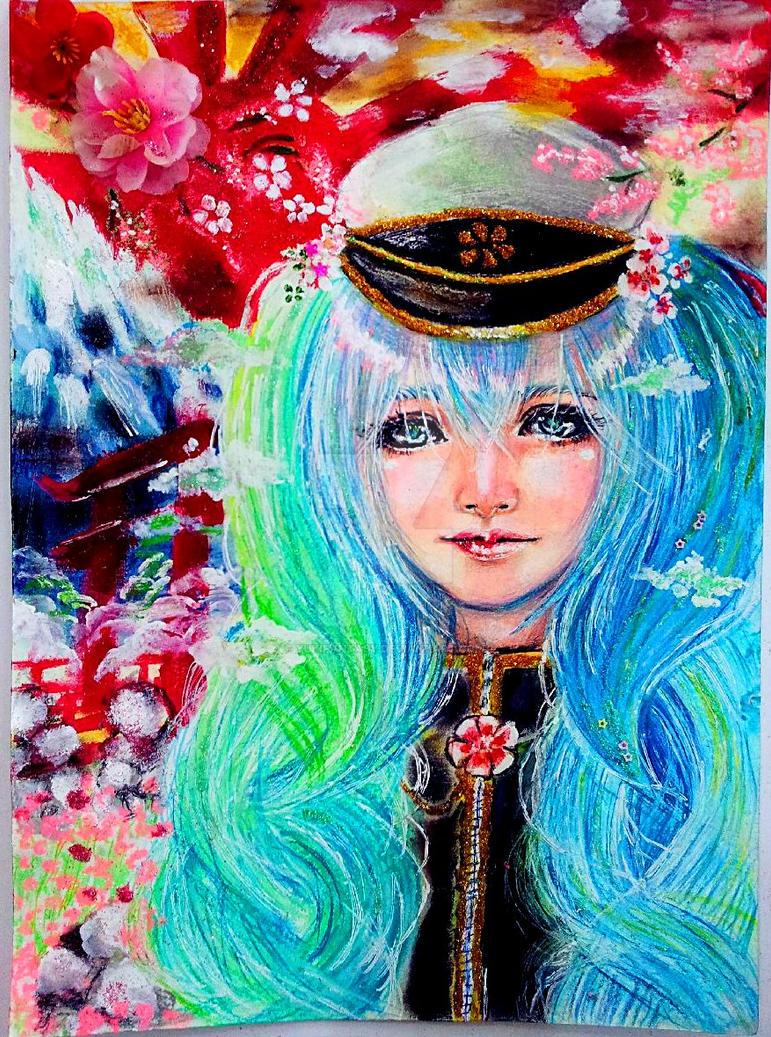 Hatsune miku by YukiFantasy