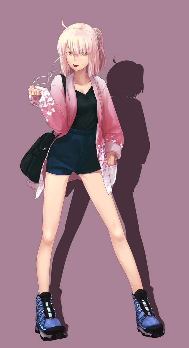 FGO - Okita, casual outfit by ipaanbaa