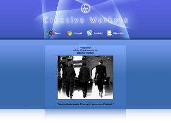 Creative Workers - Website by mangei