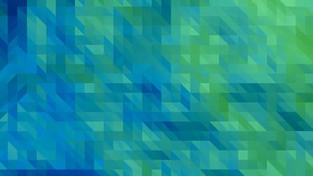 Minimalistic Triangles Wallpaper by mangei