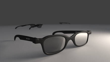 RealD 3D Glasses by mangei