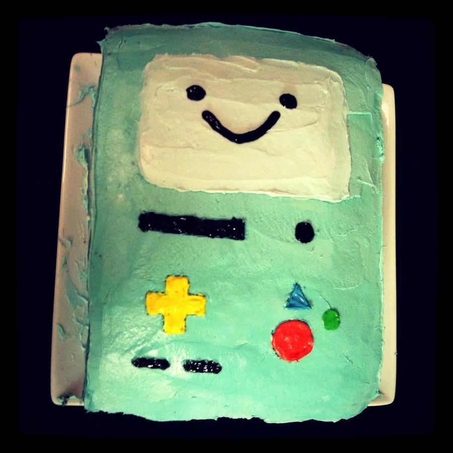 BMO Cake by tasukigirl