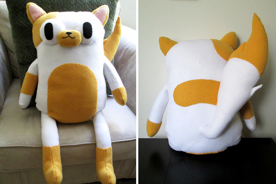 Cake the Cat Plush by tasukigirl