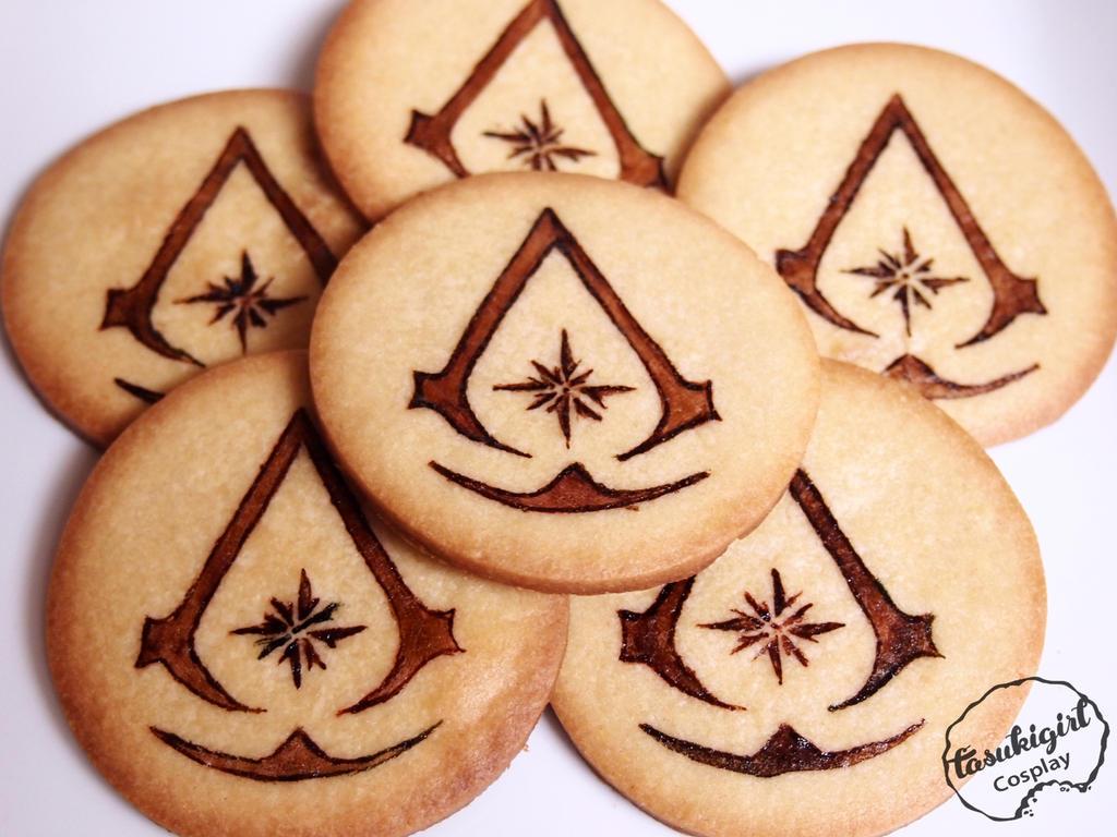 Assassin Cookies by tasukigirl