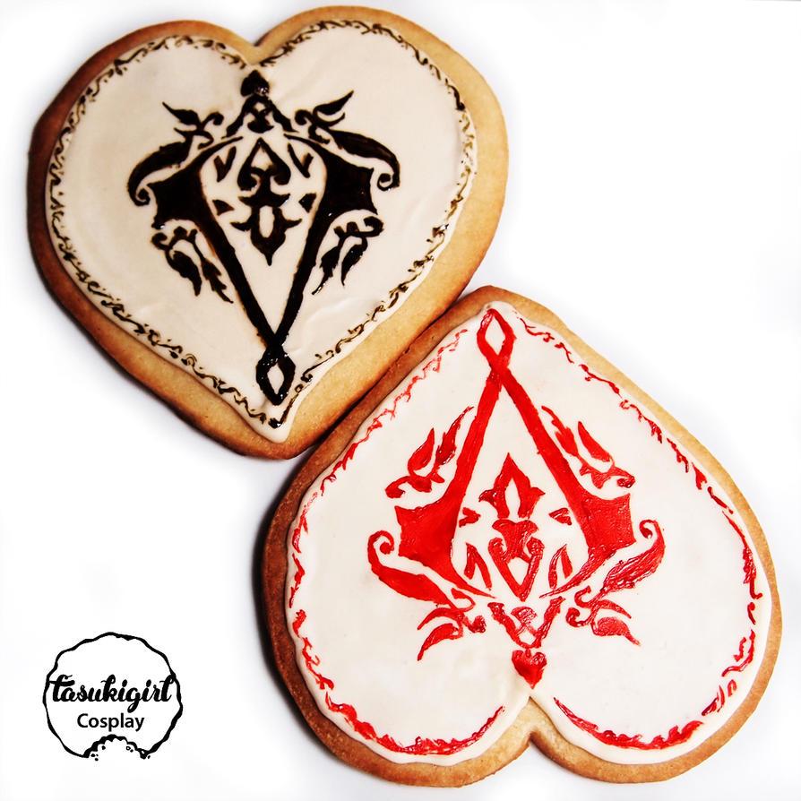 Assassin's Creed Valentines by tasukigirl
