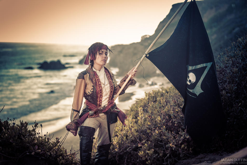 Raise the Black Flag by tasukigirl