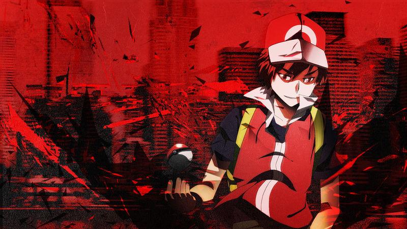 Pokemon Trainer Red Wallpaper By Sethfireburst On Deviantart