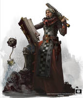 Inquisitorial Adept: Warhammer 40k