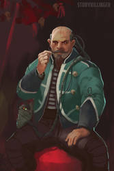 Shadowrun: Circus Rigger dwarf