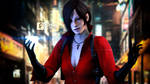 Ada Wong - my phone is very shining!