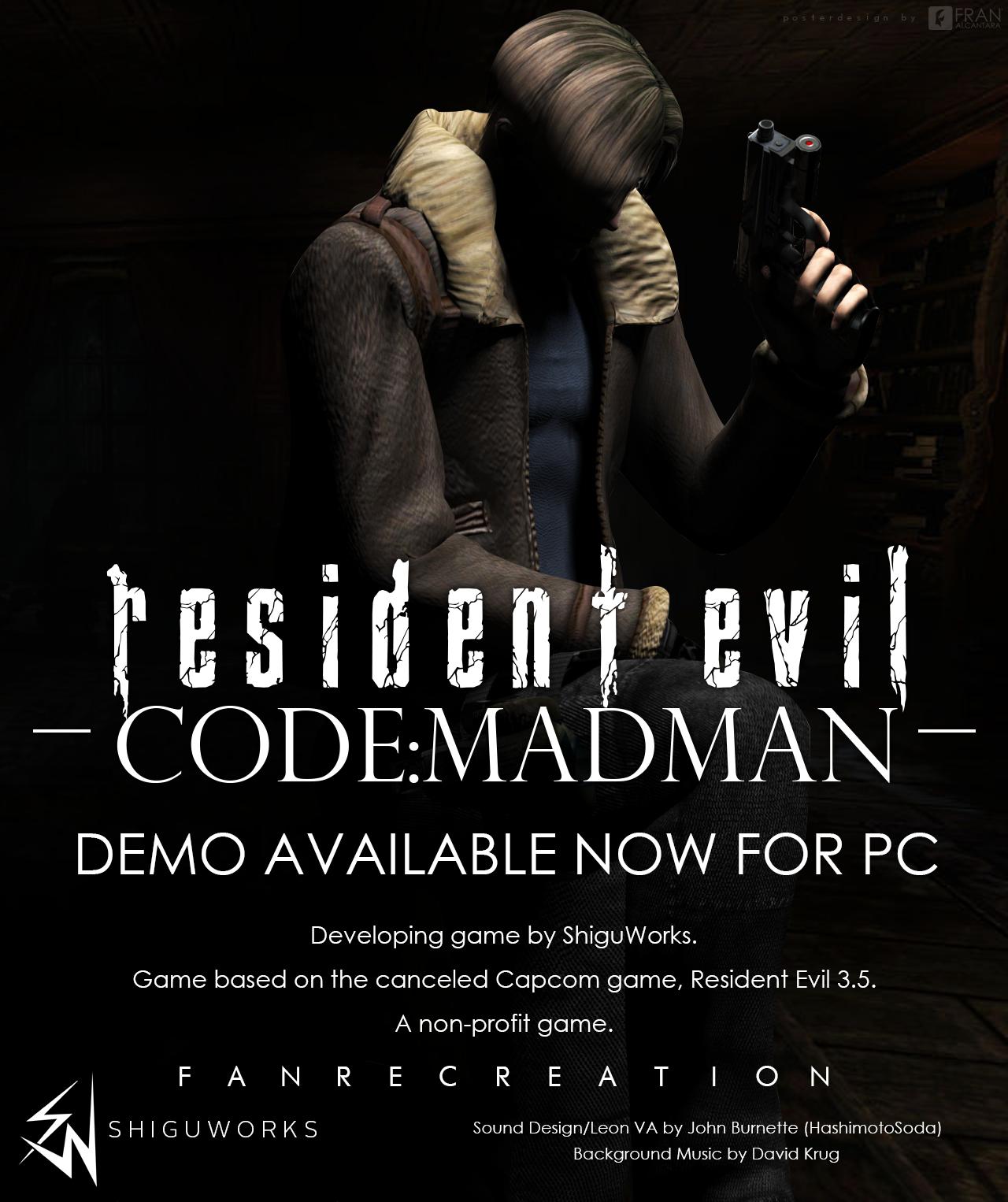 Resident Evil Code: Madman [Download Demo] by FrankAlcantara
