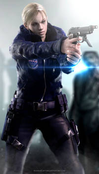 Get out of my way! - Jill Valentine