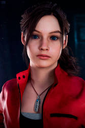 Claire Redfield 2 - RE2 REMAKE by FrankAlcantara