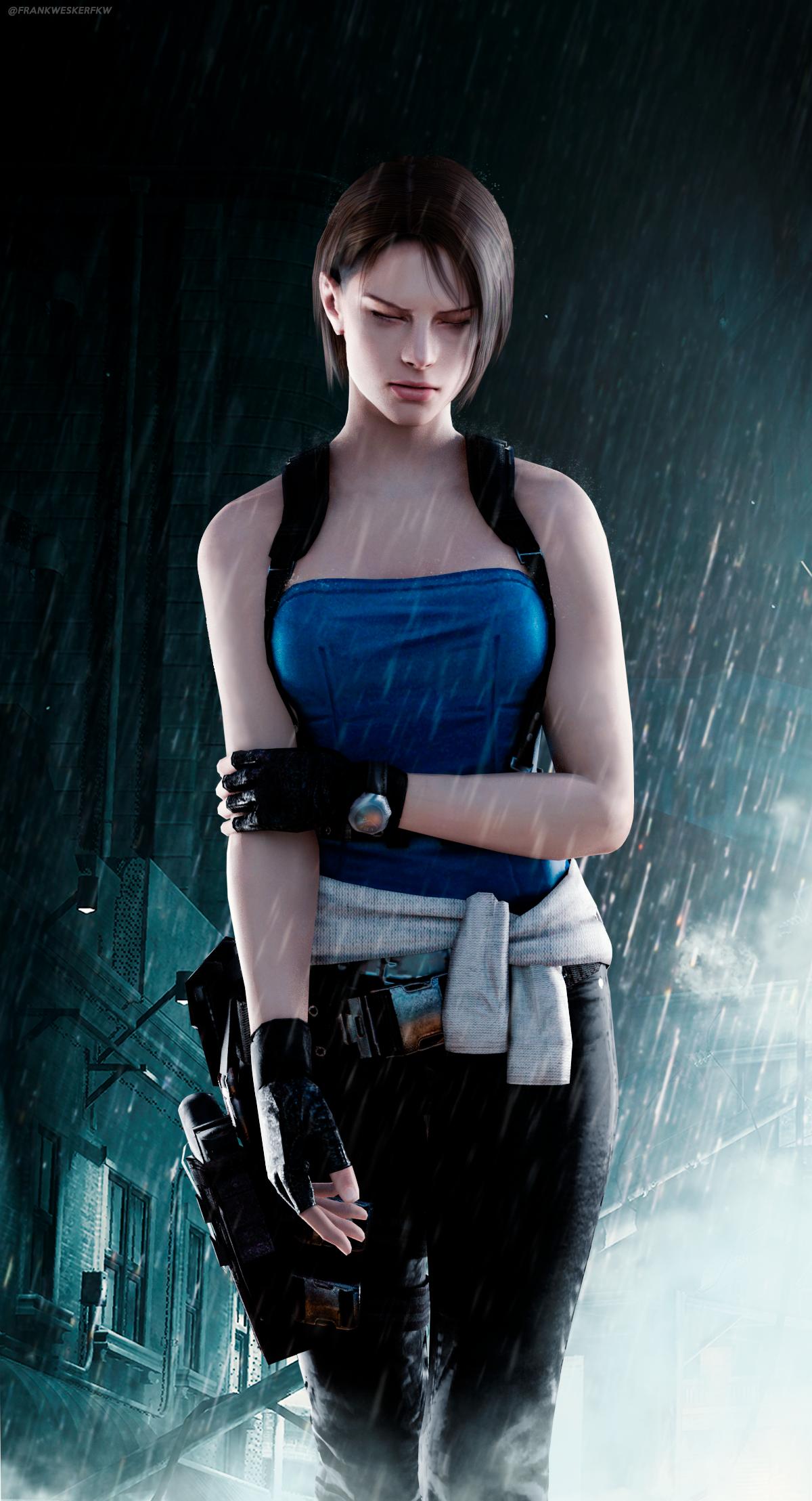 Jill Valentine Resident Evil 3 Remake By Frankalcantara On