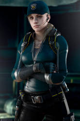 Jill Valentine - 2019 STARS Costume