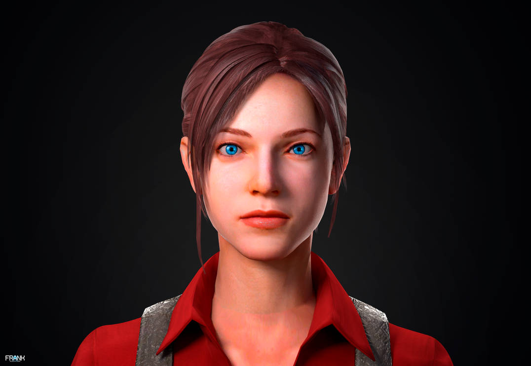 Claire Redfield - Resident Evil 6 Bar Maid Remade by FrankAlcantara