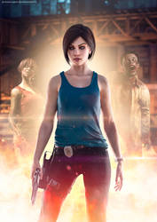 Jill Valentine On Resident Evil Series Deviantart