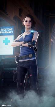 Jill Valentine - Resident Evil 3 Remake (EEVEE)