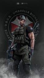 Carlos Oliveira - Resident Evil 3 (2020) (Cap ver) by FrankAlcantara