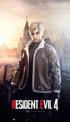 Leon Kennedy - Resident Evil 4 Remake by FrankAlcantara