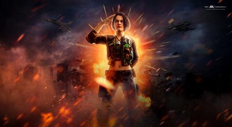 Jill Valentine - US Army Redemption