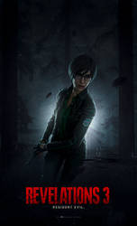 Resident Evil: Revelations 3 - Cover (Rebecca)
