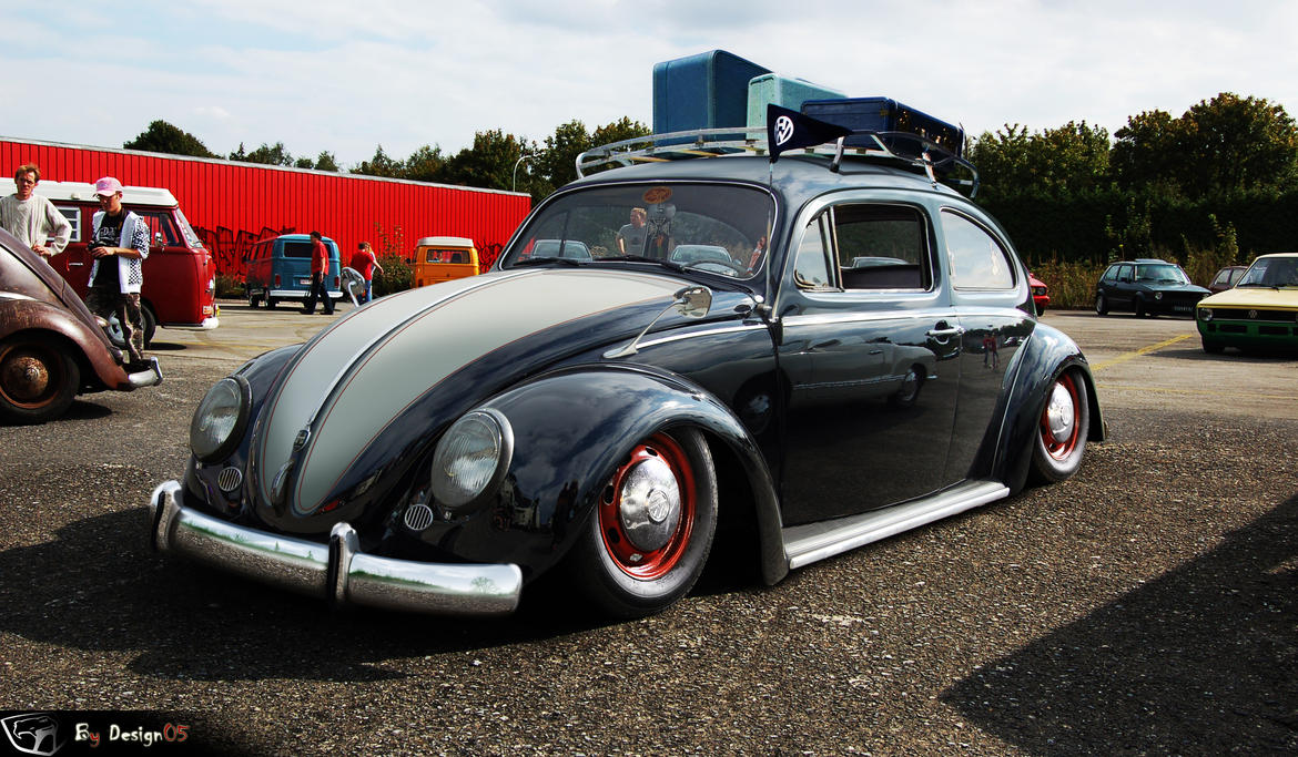 vw cox old school by