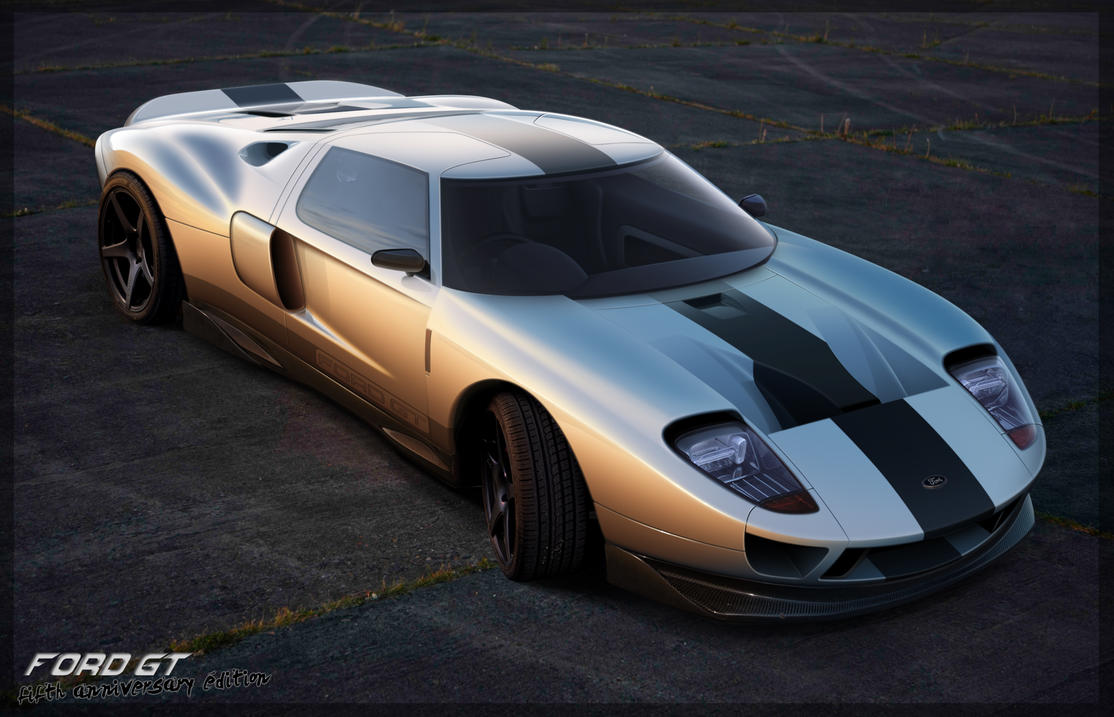 Ford GT Concept by thedesign05 on DeviantArt