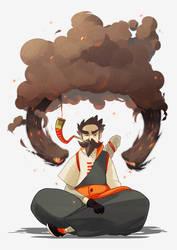 Sword of Burning Ash by Marcks