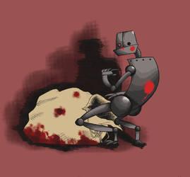This Robot has a secret...