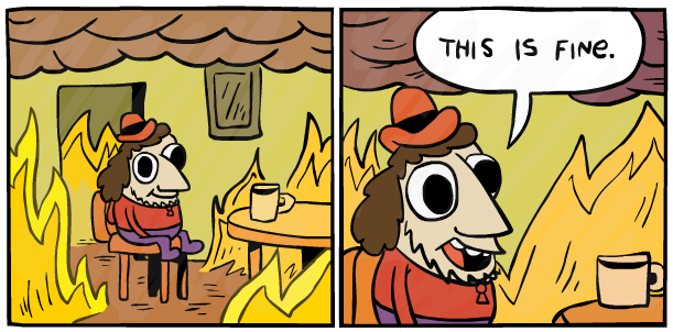 This is fine too by SkoolCool