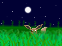 Eevee In The Grass by 003145