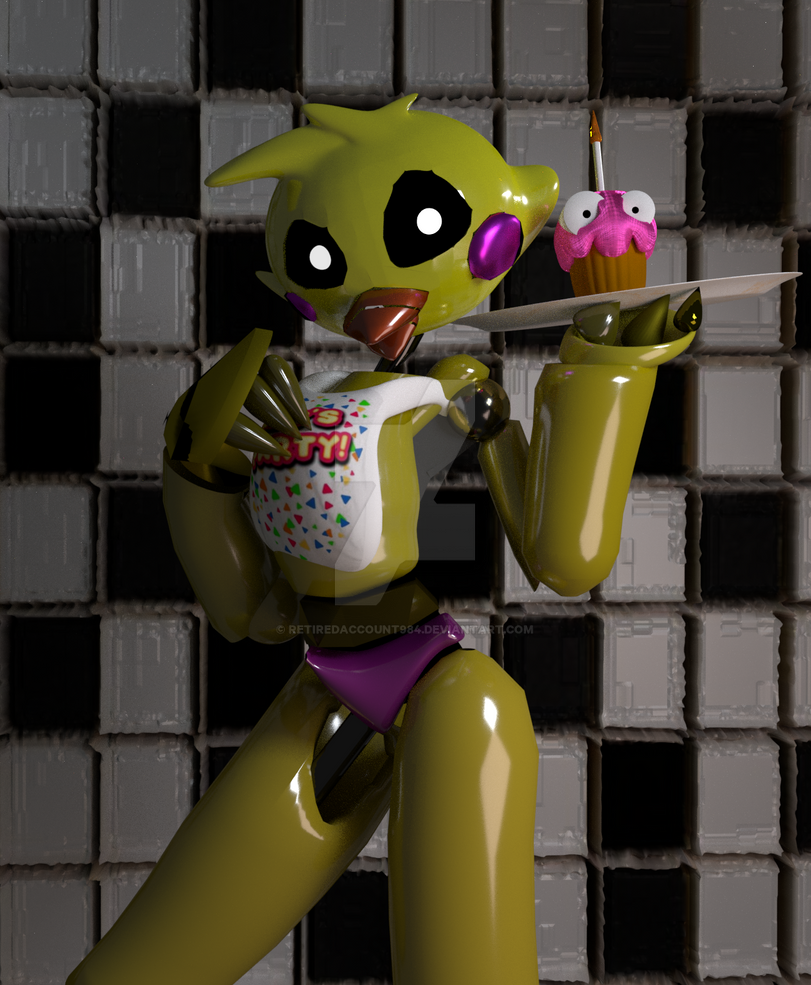 Chica update render  by Pathious