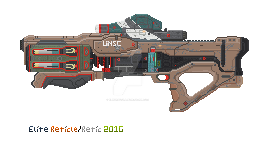 WIP Hyrda Pixel Art by EliteReticle