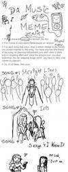 Zelink music meme by Sunhuntress