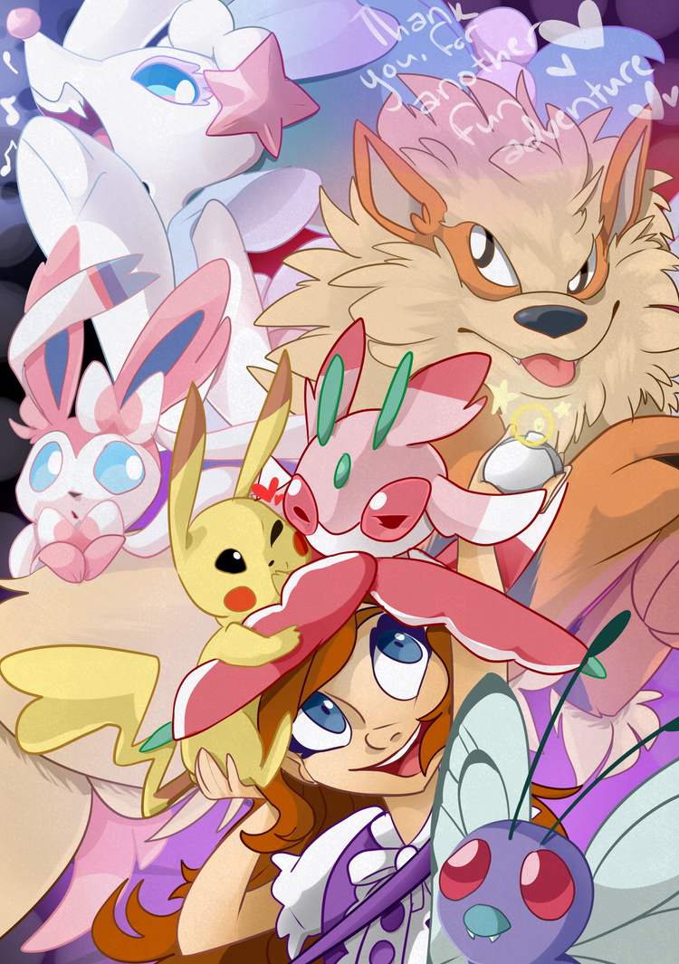 Thank you Pokemon by Stitched-Up-Threads