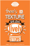 there's a texture on the lively store