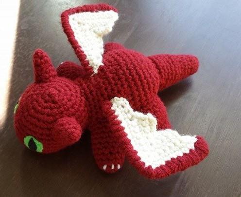 Dragon Amigurumi Eyes : Baby Dragon Amigurumi by Kaaaylei on DeviantArt