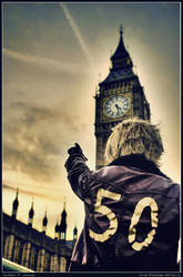 Hetalia: Alfred x Big Ben by rosiael