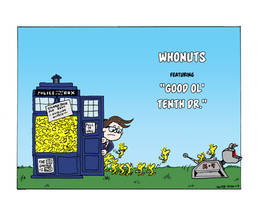Whonuts Featuring Good ol' Tenth Doctor