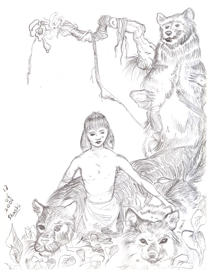 Jungle Book by Shashi92