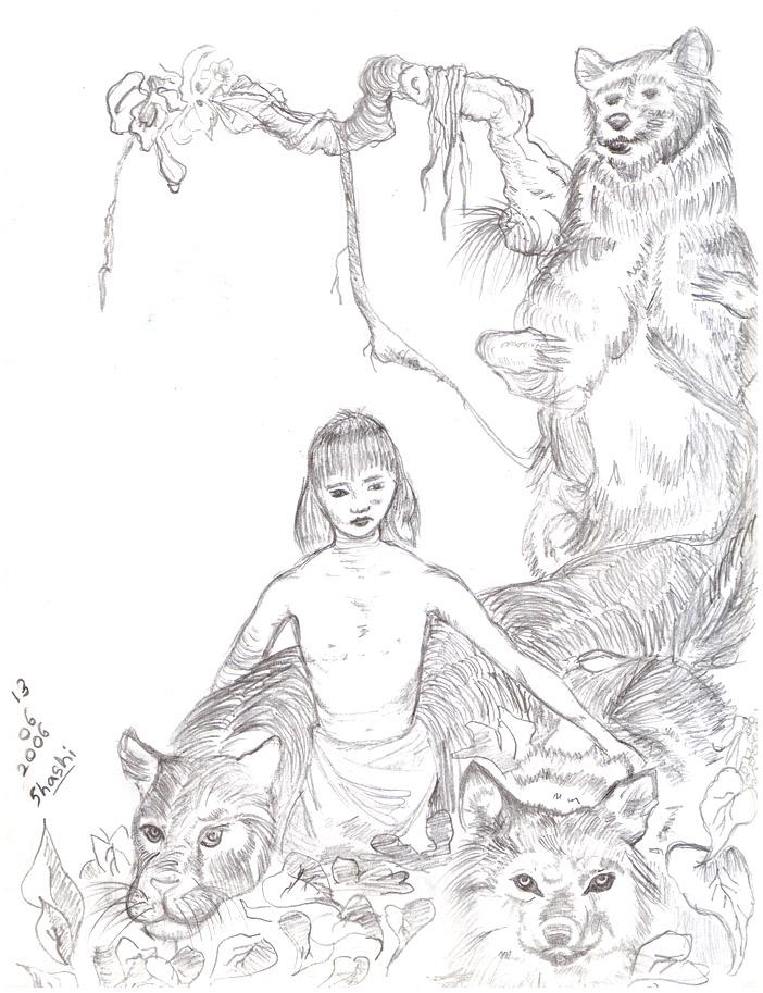Jungle Book by Shashi92