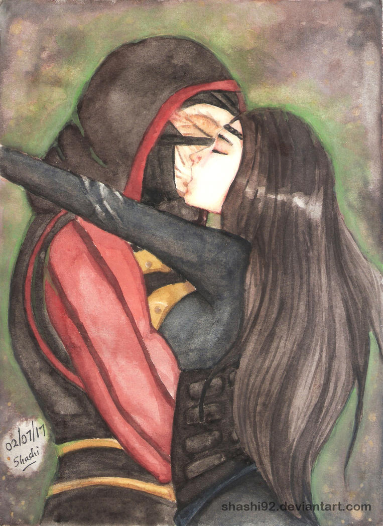 Ermac and Jeifara [Request] by Shashi92
