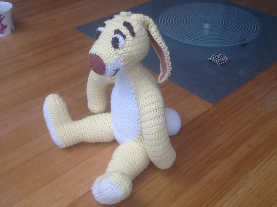 Rabbit Crochet From Winnie The Pooh By Dianaleaver On Deviantart