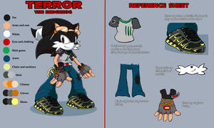 Terror Reference sheet :Comm: