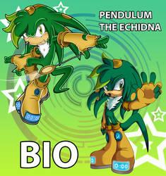 Pendulum the Echidna Bio by Pendulonium
