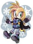 Callie the Echidna .:Commission:.