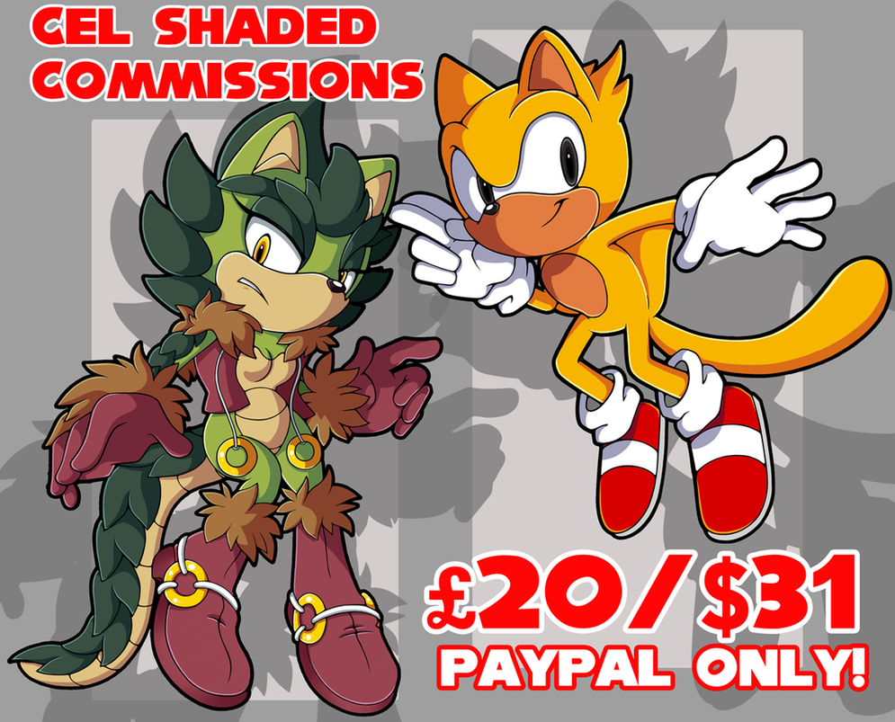 Cel Shade Commissions ::CLOSED:: by Pendulonium